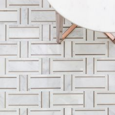 Our fresh take on basket weave - the Esplanade Canyon Cloud Marble Tile. Grey Marble Tile, Marble Mosaic, Mosaic Glass, Mosaic Tiles, Marble Floor, Texture Seamless, Entry Tile, Entryway Tile Floor, Entry Foyer