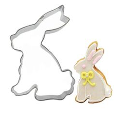 DIY Stainless Steel Rabbit Shape Cookies Mousse Mold Fondant Biscuit Cutter