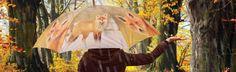 Itt az ősz színeihez passzoló rókás esernyőnk! Lehet, hogy a róka az ősz színeit képviseli, de garantáltan ki fogsz tűnni vele a tömegből. :)