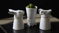 Animal Shot Glasses, by MollaSpace. Available at ahalife.com