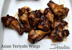 Asian Teriyaki Wings Grilled Chicken Wings - Miss Information