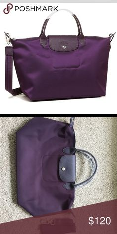 Longchamp NEO le Pliage  Bilberry With paper bag and care card Longchamp  Bags Totes d0010b40ccd38