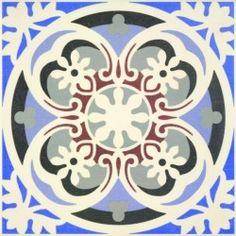 Carrelage imitation carreau ciment sol et mur 20 x 20 cm - VI0104015