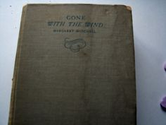 Vintage 1936 Classic  Book- Gone with the Wind by Margaret Mitchell by ScrapPantry, $8.00 USD