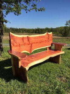 Cedar Furniture, Rustic Log Furniture, Garden Furniture, Furniture Ideas, Cabin Furniture, Furniture Websites, Inexpensive Furniture, Woodworking Workbench, Woodworking Furniture