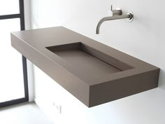 KUUB Lavabo in materiale composito by Not Only White
