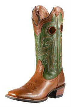 Ariat Men's Brown Wildstock Cowboy Boots