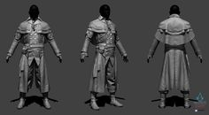 ArtStation - Assassin's Creed Unity - Quemar - ZBrush, Vince Rizzi