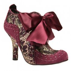 Abigails Party via Polyvore  --The shoes in this series are also very much influenced by the 18thc and before.
