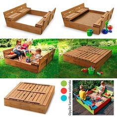 Pappy we have you a project! Backyard For Kids, Backyard Projects, Diy Pallet Projects, Projects For Kids, Diy For Kids, Diy Playground, Kids Sandbox, Bedroom Crafts, Building For Kids
