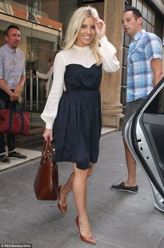 Mollie King - LOVE everything about her.