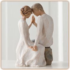 Willow Tree Figurine - Around You get to represent leaning on each other…