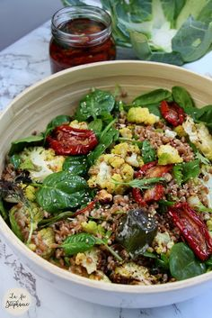 Vegan Vegetarian, Vegetarian Recipes, Healthy Recipes, Batch Cooking, Cooking Recipes, Healthy Food Alternatives, Salad Bar, Veggie Recipes, Food Inspiration