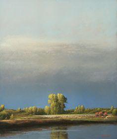 """Still Waters"" - Bruce Brainard #art #landscape"