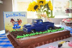 Together Herron: Jude's Little Blue Truck Party