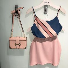 Skirt Outfits, Chic Outfits, Dress Skirt, Summer Outfits, Fashion Outfits, Womens Fashion, Cute Comfy Outfits, Pretty Outfits, Blush Prom Dress