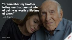 """Louis Zamperini remembers the 1936 Olympics: """"A moment of pain is worth a lifetime of glory."""""""