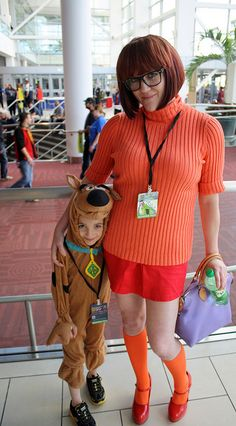 Velma and Scooby Doo photographed by UCFFool   Denver Comic Con 2013