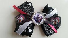 Jack N' Sally hair Bow bow 2 Nightmare Before by HandGCrafts