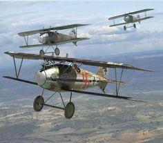 Vintage Aircraft Albatros D. Ww2 Aircraft, Fighter Aircraft, Military Aircraft, Fighter Jets, Luftwaffe, Air Festival, Aviation Art, Military Art, Vintage Trends
