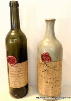 antique wine bottles - Google Search