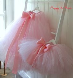 Mother and daughter tutus <3