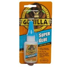 Gorilla Glue 7805001 Super Glue Bottle, 15 Gram - Amazon.com