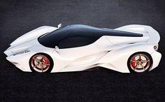 Take a look at this unique Ferrari Concept 2 sports car. The Ferrari Concept 2 car designed by Ivan Venkov. Fast Sports Cars, Super Sport Cars, Supercars, Jaguar Xk, Best Luxury Cars, Futuristic Cars, Performance Cars, Future Car, Amazing Cars