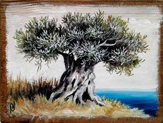 Moose Art, Trees, Canvas, Animals, Olive Tree, Tela, Animales, Animaux, Tree Structure