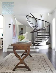 Darryl Carter is amazing. Love this foyer and staircase.