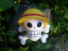 Amigurumi One Piece : Amigurumi Luffy el protagonista de la serie One Piece ...