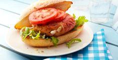 Recept van Kipburgers met mozzarella en parmaham
