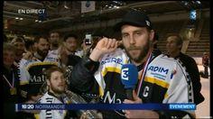 Danse des sardines des Dragons de Rouen, champions de France de hockey 2...