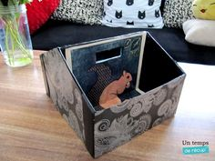 Créer une boite à rangement sympa avec une boite à chaussure http://www.untempsderecup.com/2016/06/05/diy-boite-a-rangement/#more-1043