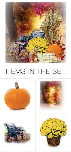 """""""An Autumn Day"""" by lois-boyce-flack ❤ liked on Polyvore featuring art and autumn"""