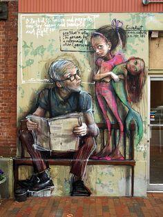 Street art walls | HERAKUT