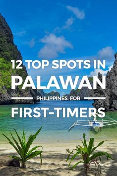 Palawan – 12 Top Spots To Visit & Things To Do for First-Timers. Where to go in Palawan, Philippin Voyage Philippines, Philippines Vacation, Les Philippines, Philippines Travel Guide, Philippines Beaches, Phillipines Travel, Philippines Palawan, Philippines Culture, Beautiful Places To Visit