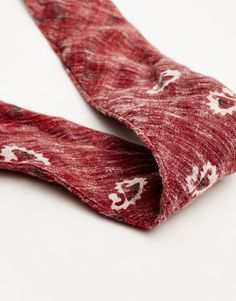 Bandana grená - Cachecóis e lenços - Complementos - Mulher - PULL&BEAR Portugal