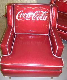 Vintage Coca Cola Chair