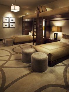Aspen Zen Residence Guest Bedroom (Design by Knudson Interiors)                                                                                                                                                      More
