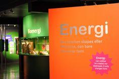 """SixSides   Projects   Exhibition   """"Jakten på den gode energi""""   Energisenteret, Hunderfossen familiepark"""