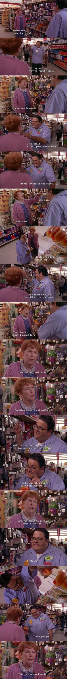 I feel that whoever wrote Malcolm in the Middle has actually worked in retail.
