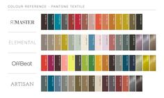 fashion colourcard 16 17 pantone pinterest. Black Bedroom Furniture Sets. Home Design Ideas