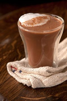 The winning combination of marshmallow fluff, peanut butter, and chocolate makes an over the top cup of cocoa.