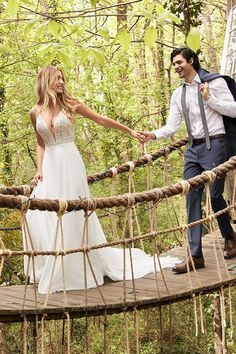 Planning a relaxed and rustic-chic celebration? Get inspired by this flirty sheath wedding dress featuring lovely lace, dreamy chiffon, and a hint of sexy. Wedding Goals, Wedding Pics, Wedding Day, Dream Wedding Dresses, Prom Dresses, Girls Dresses, Flower Girl Dresses, Cute Couples Goals, Couple Goals