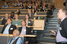 Solarenergi-konferanse i lysets tegn.  60-70 deltakere fra hele Europa og vel så det debatterte og studerte solenergiens framtid under Solar Energy Conference på UiAs Campus Kristiansand.