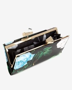 Distinguishing rose matinee - Black | Purses | Ted Baker AU
