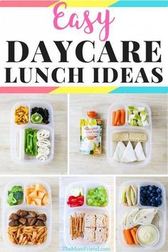 Check out these easy toddler lunch ideas for daycare, preschool or at home! They are healthy too! #mealplanning #toddlerfood #toddlerlunch #lunchideas #daycare sponsored by @HappyFamily #healthymeals