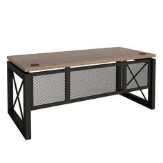 Furniture That Works -- Shop & Save. Buy Office Furniture from National Business Furniture. Industrial Office Desk, Vintage Industrial Furniture, Industrial Style, Business Furniture, Office Furniture, Furniture Design, Furniture Upholstery, Home Office Design, House Design