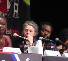 Norman Reedus Kisses Melissa McBride Comic Con Panel
